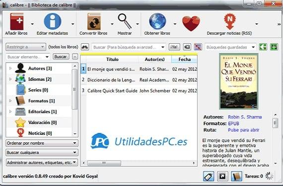 Calibre, Gestor Y Organizador De Ebooks