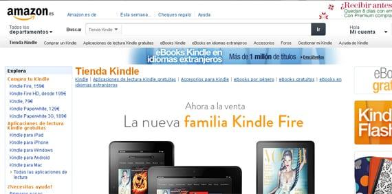 Tienda Kindle de Amazon.es