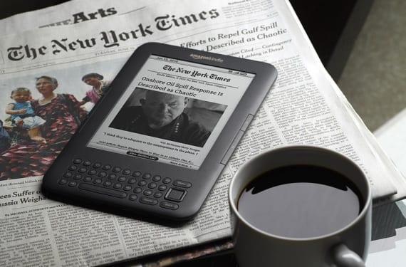 El formato de ebook, el éxito de Amazon