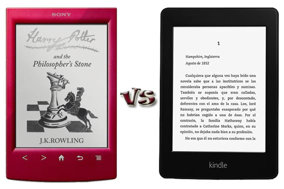 Kindle Vs Sony Reader: Comparativa Entre Sony PRS-T2 Y Kindle Paperwhite
