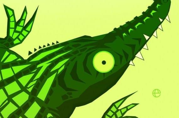 Ebook Los ojos amarillos de los cocodrilos