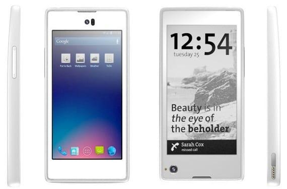 Yotaphone de Yota Devices