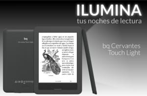BQ Cervantes Touch Light