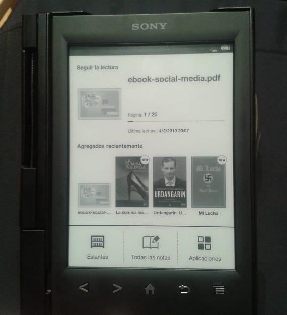 eReader Sony