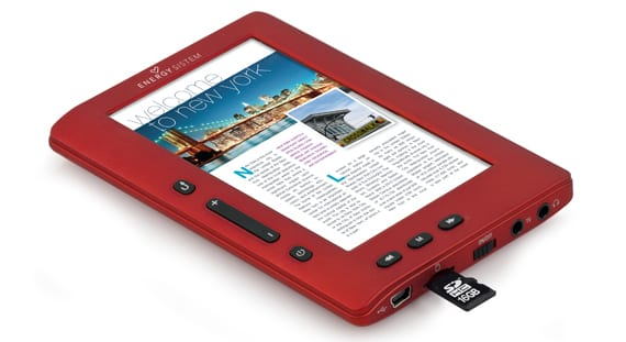 gana un eReader Energy mp5 colorbook 3048 ruby red totalemnte gratis