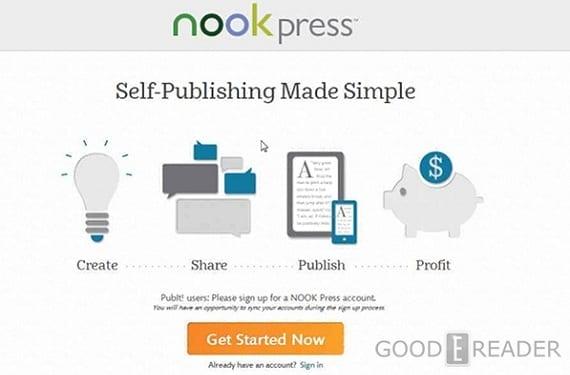 Nook Press se actualiza