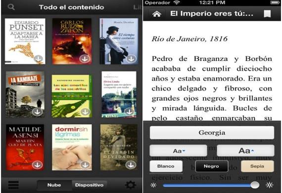 La aplicación de Kindle se actualiza para iOS