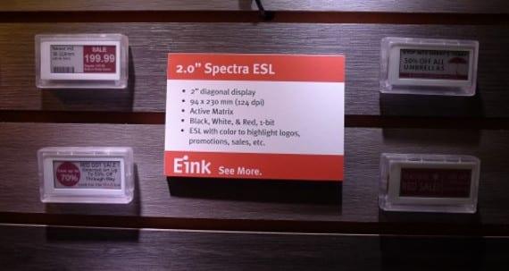 Spectra 3 Color Display, un pequeño paso para el Hombre...