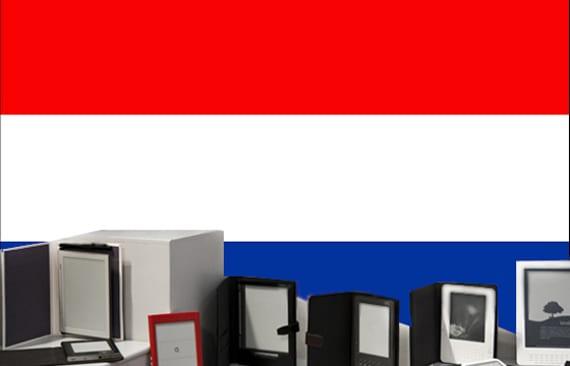 La venta de ebooks aumenta en Holanda