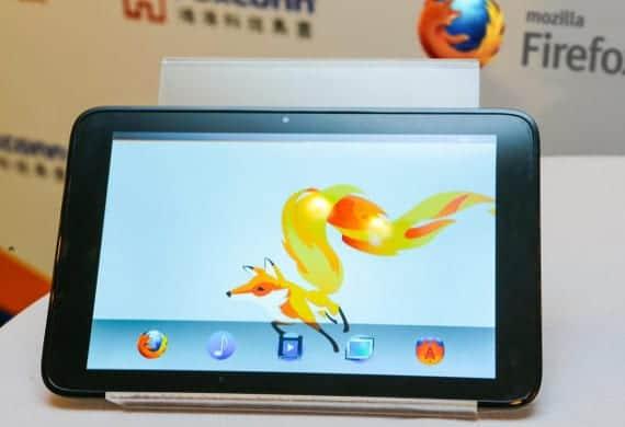 Foxconn presenta su tablet con Firefox OS