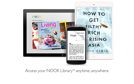 Barnes&Noble elimina su aplicacion Nook para Mac y Pc