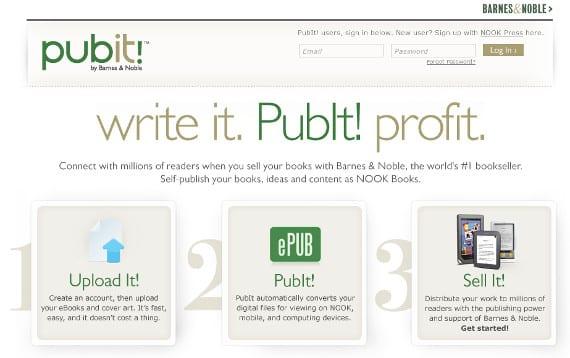 PubIt cierra, Barnes & Noble sigue con la liquidación