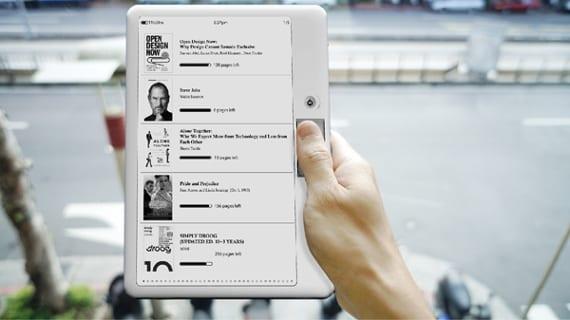 Yanko Design aporta ideas para eReaders del pasado en el futuro