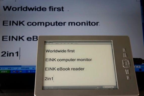 CBR un eReader que además es monitor