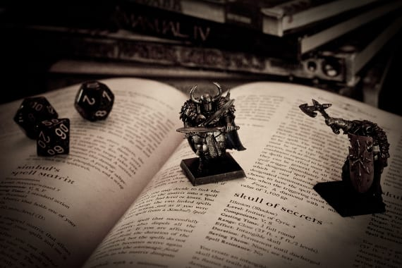 Wizards of Coast libera las novelas de Dungeons & Dragons