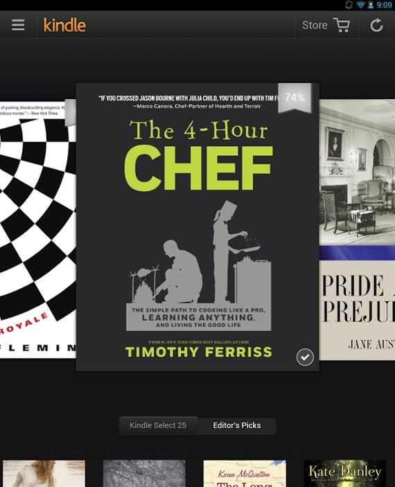 Kindle para Android se actualiza, los planes de Amazon