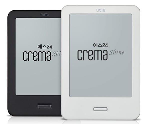 Crema Shine, el eReader que se apunta a la moda de las tablets
