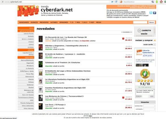 Cyberdark, nuevos aires para una vieja librería