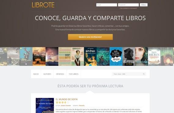 """Librote, un """"facebook"""" de libros"""