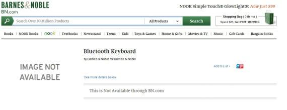 Nook X, el nombre del nuevo eReader de Barnes & Noble