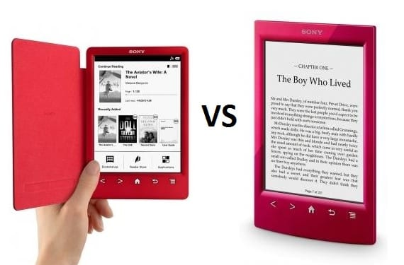 Kindle Vs Sony Reader: Sony Reader PRS-T3 VS Sony Reader PRS-T2