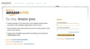 Amazon Smile, el lado más caritativo de Amazon