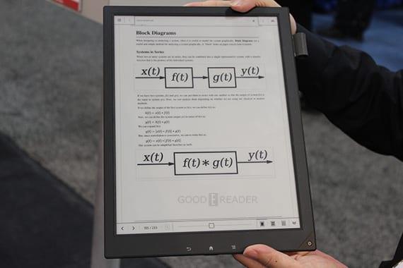 El cuaderno digital de Sony se vuelve a dejar ver