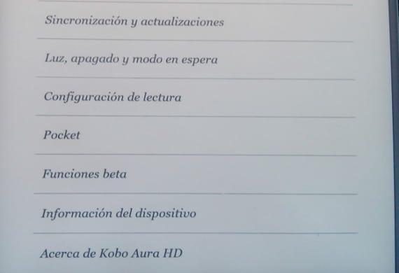Kobo Aura HD recibe una gran actualización