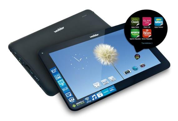 Wolder mejora su oferta de tablets gracias a Mobiles Republic