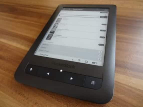 M-Pocketbook Touch Lux, el rival de Tolino