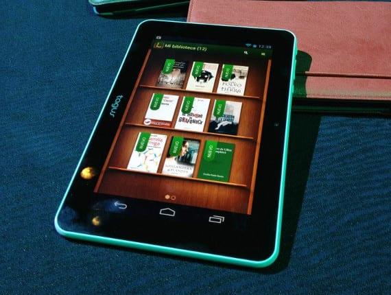 Tagus Tablet por menos de 80€, una tablet interesante para leer