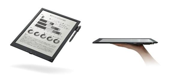 El Cuaderno digital de Sony o DPT-S1 saldrá a la venta en diciembre