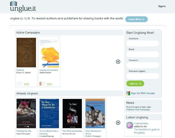 Unglue.it o cuando los lectores se poner a vender ebooks