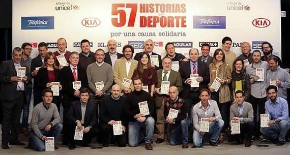 """""""57 historias del deporte"""""""