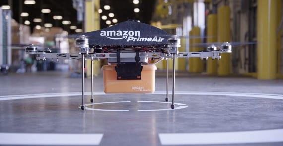 Amazon Prime Air o cómo van a llovernos Kindle's