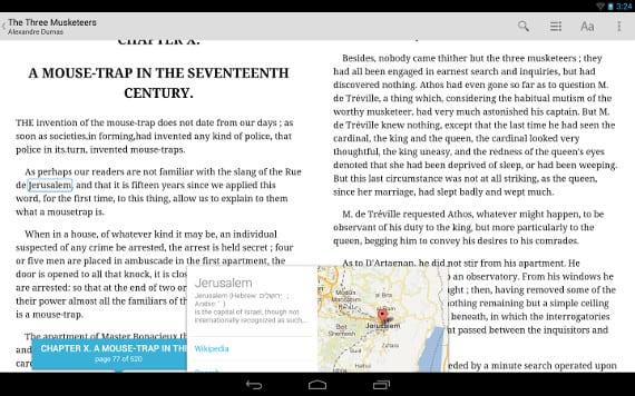 Google Books permite almacenar ebooks desde nuestra tablet o movil