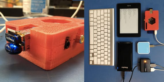 Kindleberry Pi, ¿un lector o un miniordenador?