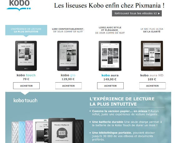 Kobo se expande por Francia, ¿la alternativa a Amazon se llamará Kobo?