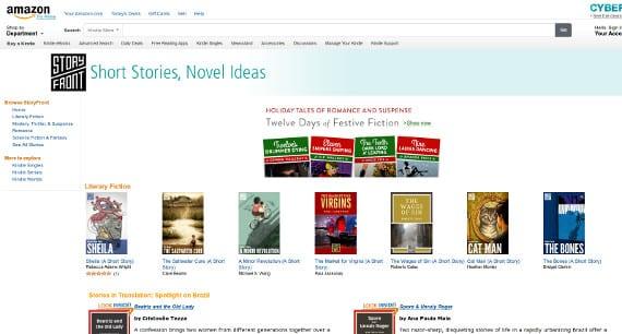 StoryFront o cómo Amazon no tira nada a la basura