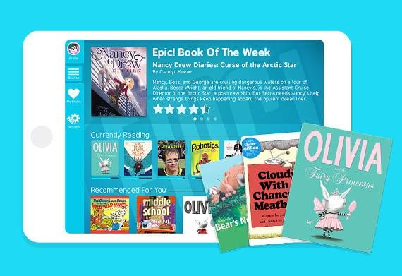 Epic! el spotify de ebooks para los más pequeños