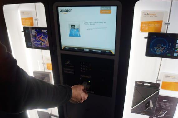 Amazon lanza su propia máquina expendedora