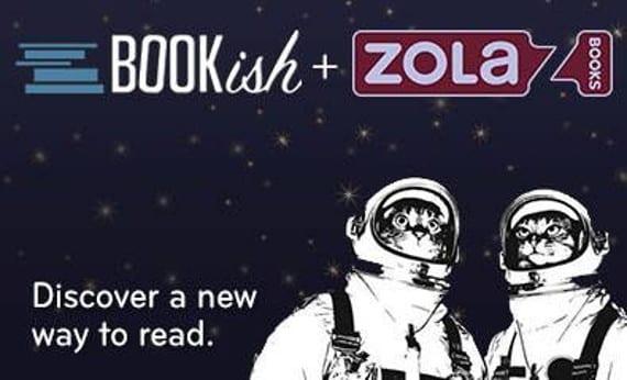 Zola Books compra Bookish, ¿dos pequeños se unen para hacer uno grande?