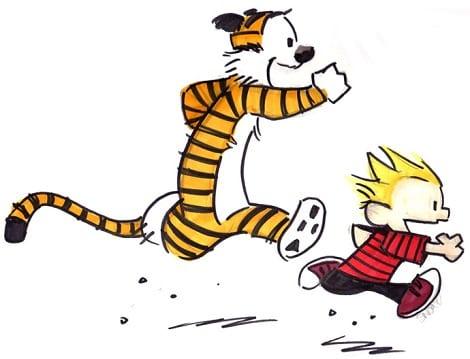 """Calvin & Hobbes"""