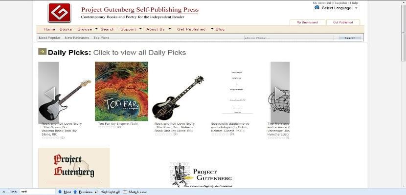 El Proyecto Gutenberg se afianza entre los escritores