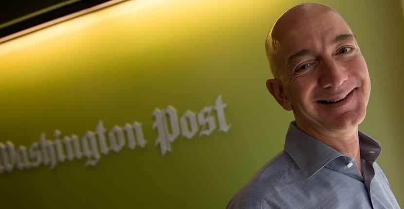 Bezos podría intentar meter Amazon en el Washington Post