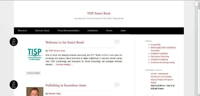 Smart book, un nuevo recurso para editores