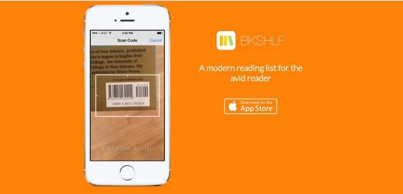 BKSHLF, una biblioteca en nuestro iPad