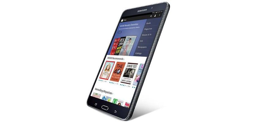 Samsung Galaxy Tab 4 NOOK, la nueva tablet de B&N y Samsung