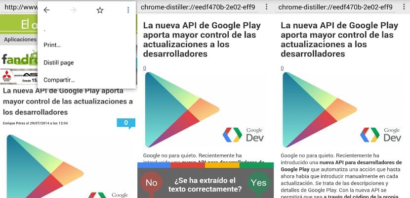 Google añadirá el modo lectura a sus navegadores