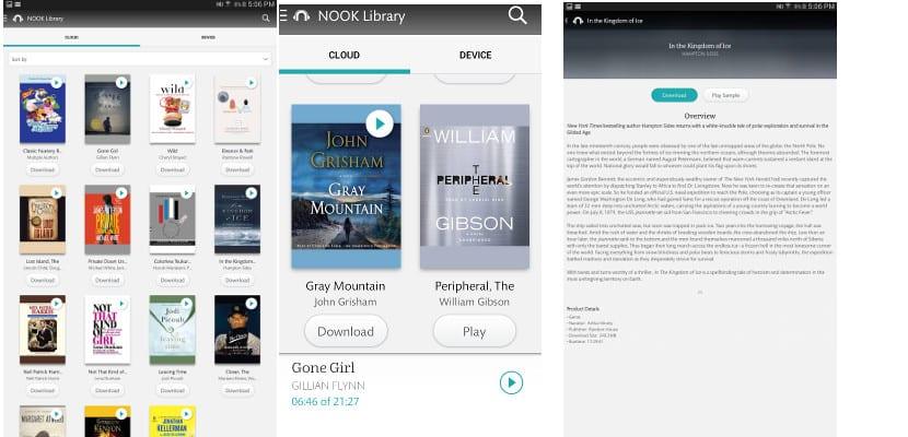 B&N se apunta a la moda de los audiobooks